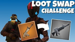 Fortnite Loot Swapping Challenge!!!