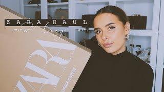 ZARA UNBOXING HAUL + TRY ON | Hello October