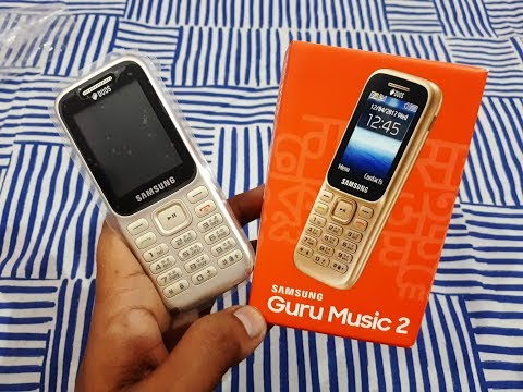 Samsung Guru Music 2 | Unboxing 15 November 2018 | Gold colour