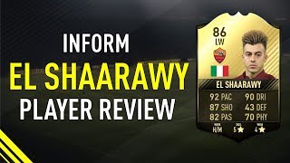 FIFA 17 INFORM EL SHAARAWY (86) PLAYER REVIEW