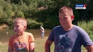 В Костроме и районах области продолжаются уроки плавания для детей и подростков
