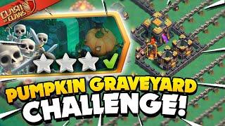 Easily 3 Star the Pumpkin Graveyard Challenge (Clash of Clans) screenshot 3