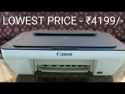 Best Printer For Home - Canon E477 - Wireless GUIDE+REVIEW - 2017