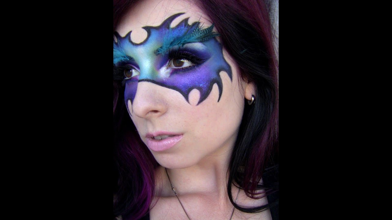 Youtube Makeup Tutorials Popular: Fantasy Makeup: Enchanting Mask