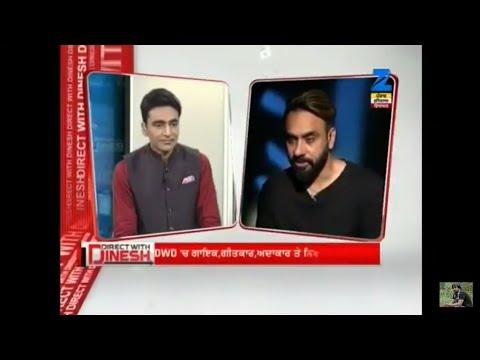 Babbu Maan Latest Interview | Zee Punjab Haryana | HDPrint