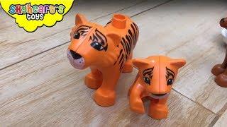 LEGO DUPLO Animal Zoo Collection - Skyheart toys safari farm jungle