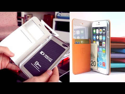 Caseco ID Wallet Cases for iPhone 6/6+ | REVIEW & GIVEAWAY