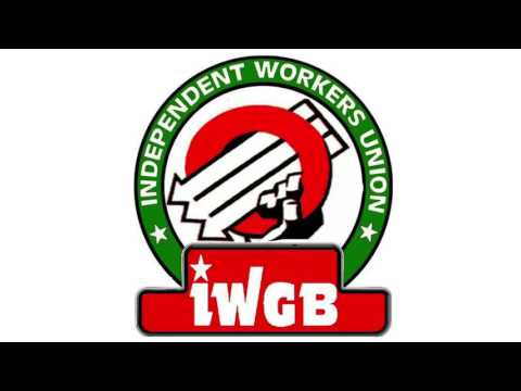 IWGB RADIO: E-Courier Victory, IWGB Charity and News from the Union 26/04/2016