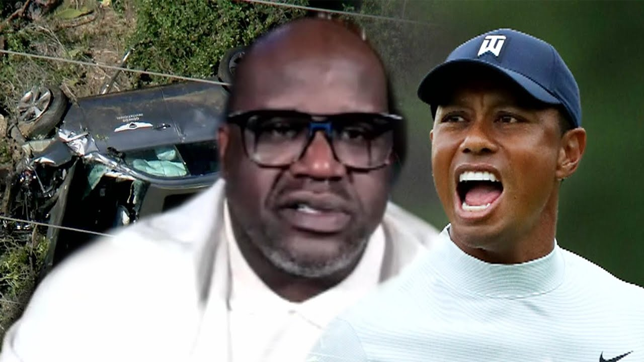 Shaquille O'Neal Says Tiger Woods' Car Crash Brought Back Painful Memories of Losing Kobe Bryan