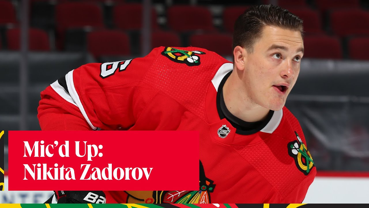 Mic'd Up Nikita Zadorov | Chicago Blackhawks