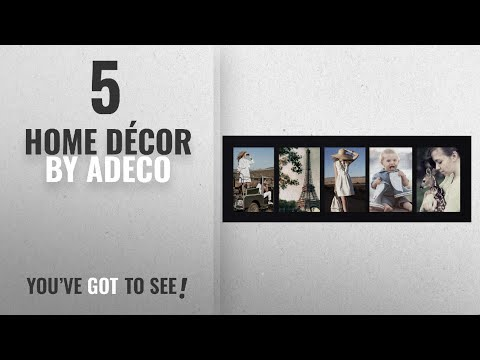 Top 10 Home Décor By Adeco [ Winter 2018 ]: Adeco Decorative Wood Wall Hanging Picture Frame, 4 by