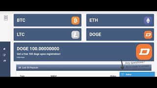 Earn Free Bitcoin Mining Site 100ghs Free No Investment