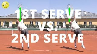 1st Serve vs. 2nd Serve