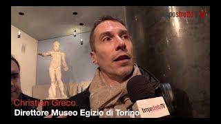 """Dal museo egizio di Torino, il direttore Greco: """"Stupefatto dalla bellezza del MuMe"""""""