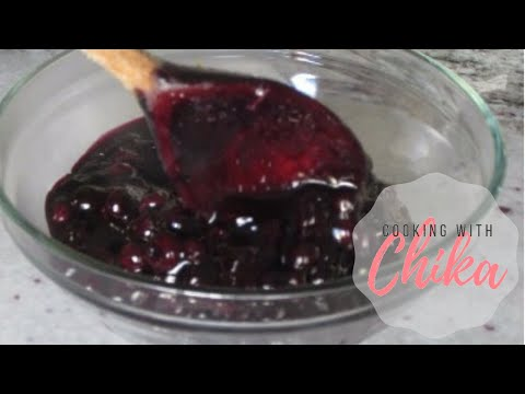 Easy Blueberry Sauce Recipe | Borrowed Delights – Episode 38