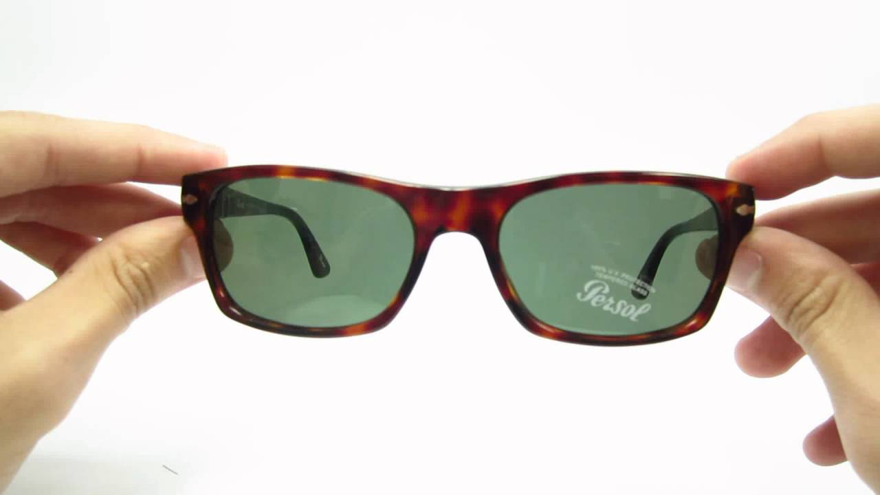 a9e5c1dd0a2 Unboxing Persol PO 3037S Havana 24 31 54mm Sunglasses - YouTube