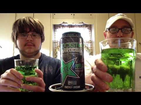 The Beer Review Guy # 788 Rock Star Hard Core Apple Energy Drink for sub ( MV 5588)