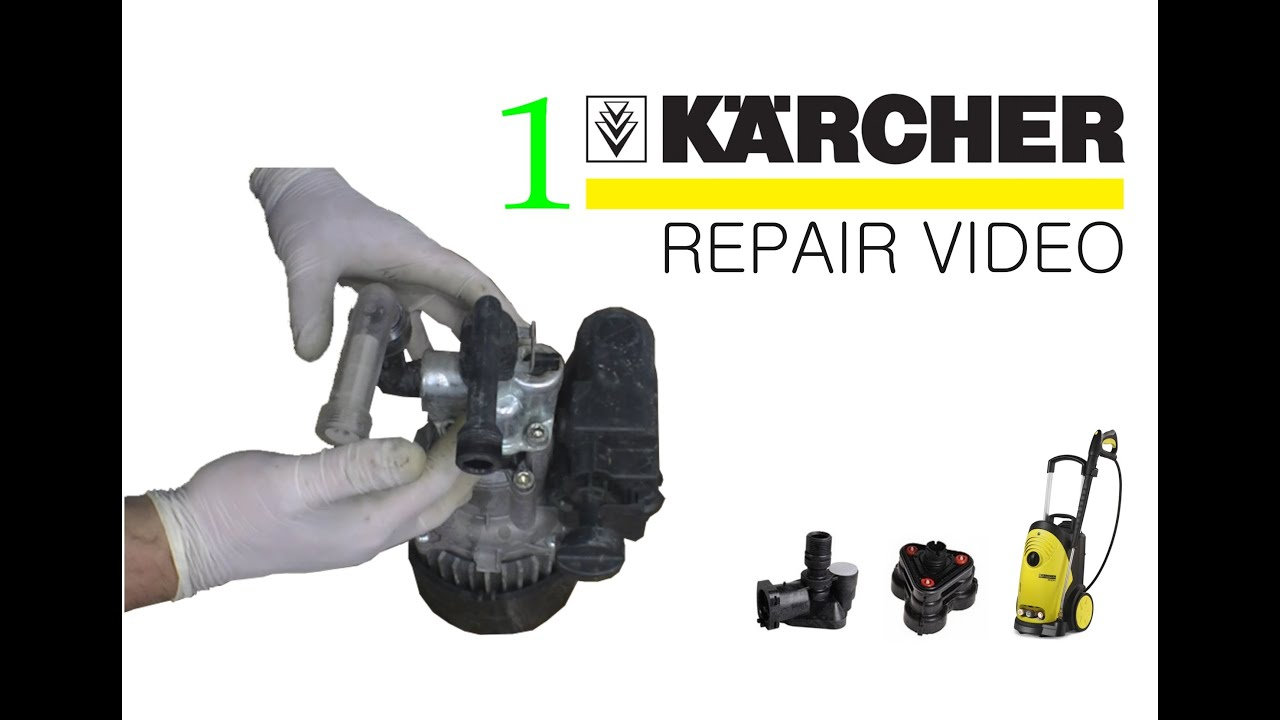 K2 490 Karcher How To Fix A Karcher Pressure Washer - Youtube