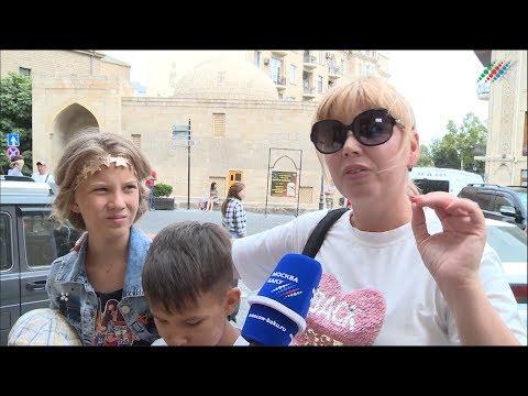 Смотреть Российские туристы: Обязательно приезжайте в Баку, это рай! онлайн