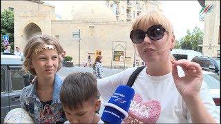 Российские туристы: Обязательно приезжайте в Баку, это рай!