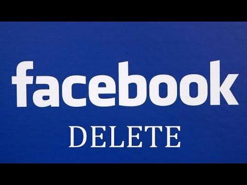 Как удалиться с фейсбука