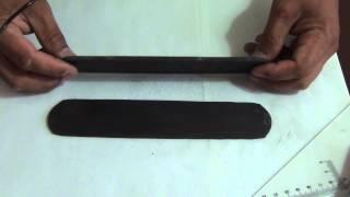 Заготовка клинка кованая сталь Х12МФ закаленая(ссылка на магазин http://www.artwood.ru/, 2014-07-18T08:57:18.000Z)