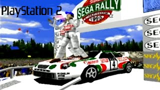 SEGA Rally Championship playthrough (PS2)