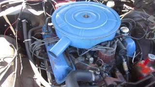 1965 Ford Galaxie 500 390 V-8 Engine