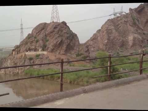 Chenab River & Bridge, Chiniot, Pakistan