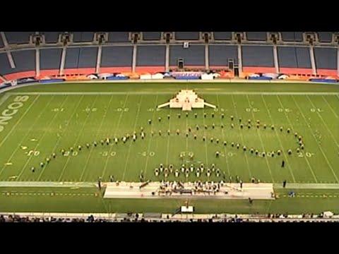 Loveland High School and Green Mountain High School Marching Band 2002