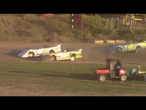 Genesee Speedway Crate Late Model Heats 9-14-19