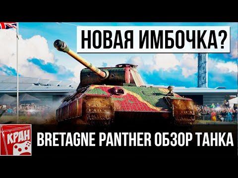 Bretagne Panther НОВАЯ ИМБОЧКА? ОБЗОР. НОВОГОДНЕЕ НАСТУПЛЕНИЕ 2020 WOT