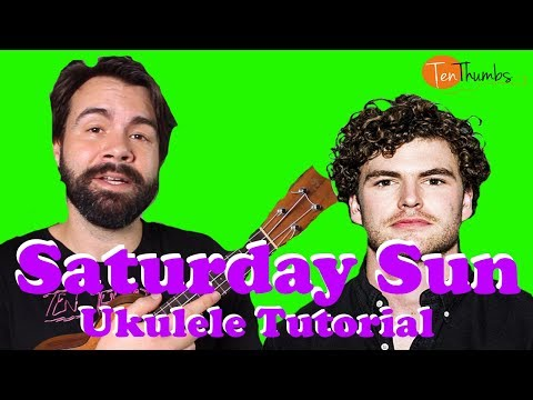Vance Joy - Saturday Sun - Super Easy Beginner Ukulele Tutorial