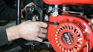 видео Генераторы на двигателях Honda