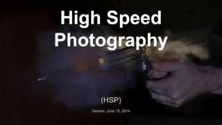 TPB #87 - High Speed Photography Overview