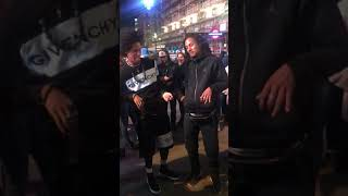 vuclip LES TWINS IN LONDON EXCHANGING W/ M2K