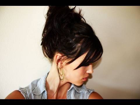 creative hairstyles easy messy