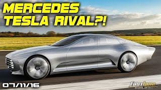 Mercedes-Benz Tesla Model S Rival, Chevrolet Ss More Power, New Nissan Pathfinder - Fast Lane Daily