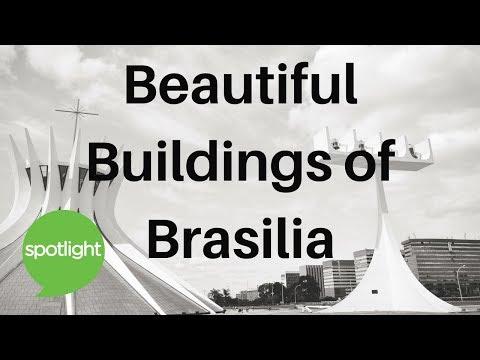 """Beautiful Buildings of Brasilia"" - practice English with Spotlight"