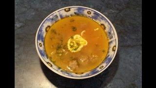 #Суп с мясными фрикадельками. #Видеорецепт.