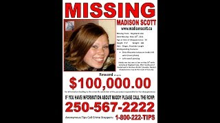 It's been 8yrs since Madison Scott vanished