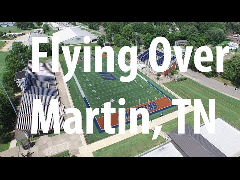 Flying Over the UT Martin Campus In 4K Ultra High Definition