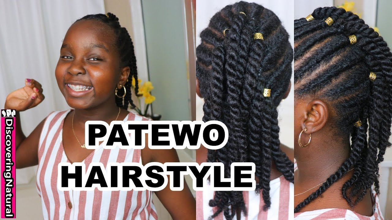 Cute And Easy Natural Hairstyle No Braid Protective Hairstyle