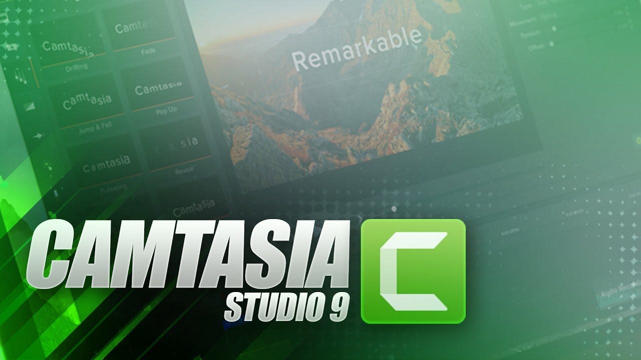 camtasia version 9.0