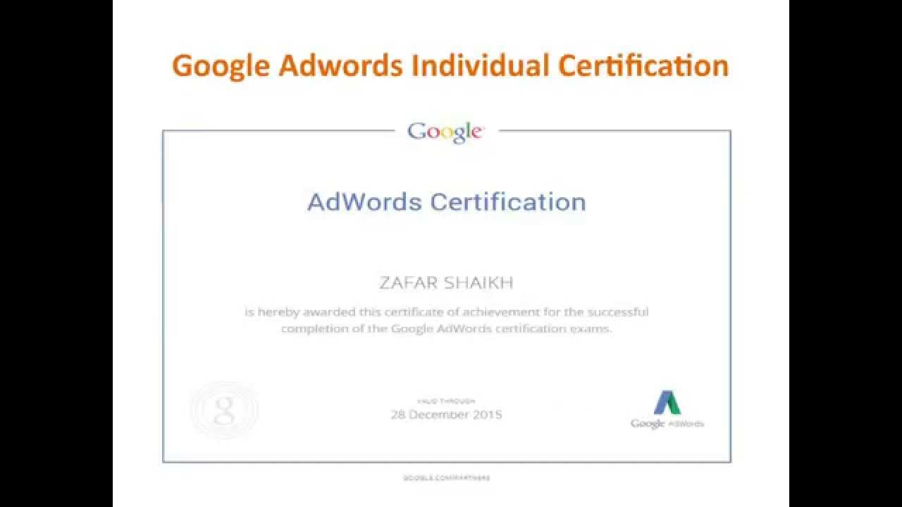 How to become a google adwords certified professional google how to become a google adwords certified professional google partner 1betcityfo Image collections
