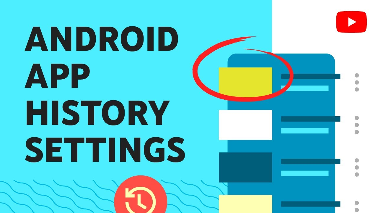 Manage your watch and search history on the YouTube Android app