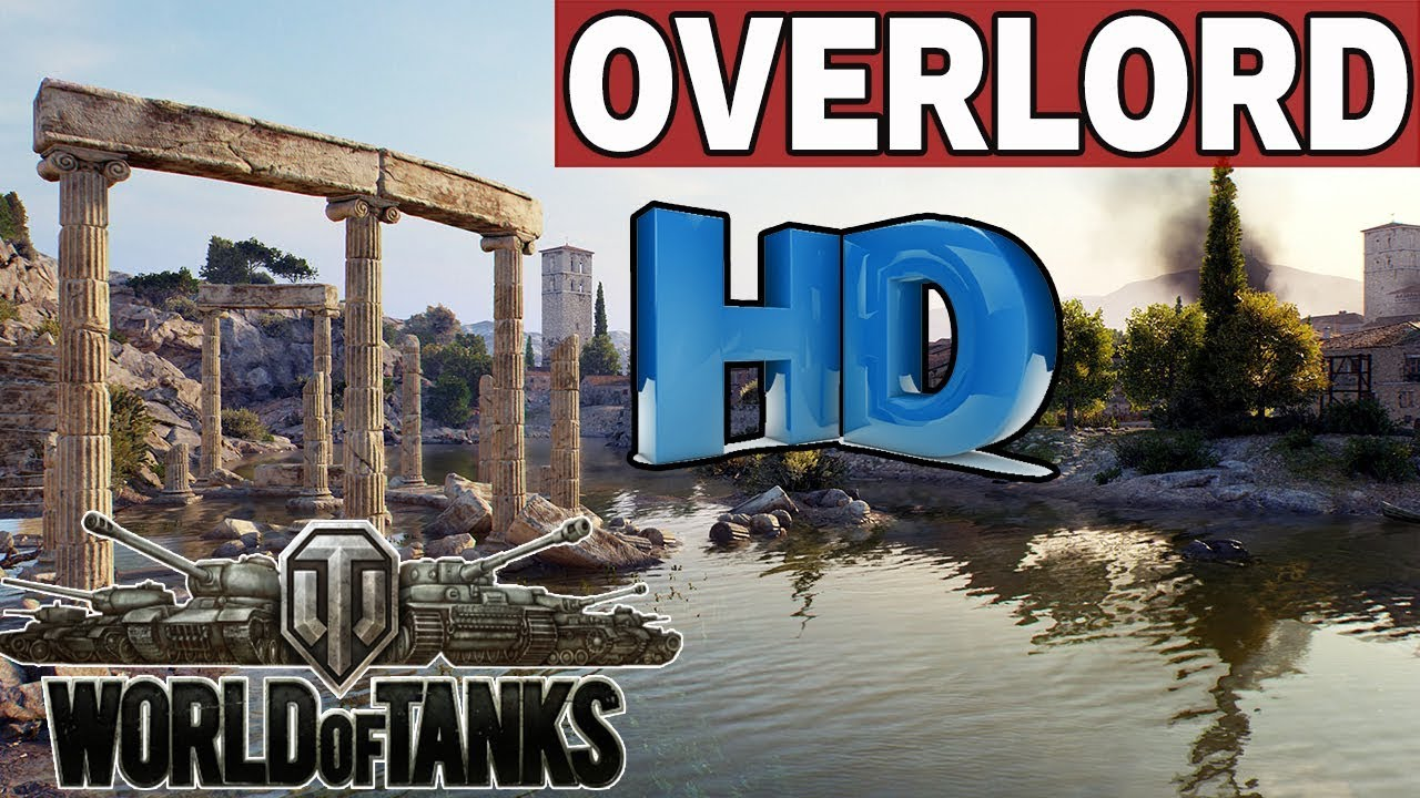 OVERLORD  – MAPY  HD – World of Tanks
