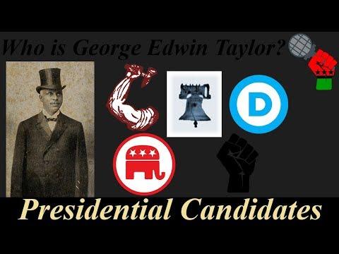 Who is Geroge Edwin Taylor?