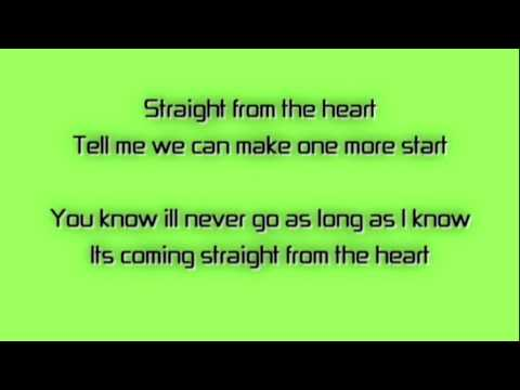 Straight From The Heart - Performed By Doctor Rocktor - With Lyrics