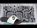 HYDRO Dipping NIKE Slides In SNAKESKIN!!